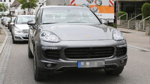 Porsche Cayenne facelift spied virtually undisguised
