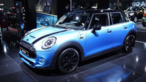 MINI five-door hatchback at 2014 Paris Motor Show