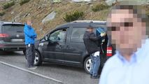 2015 Volkswagen Caddy facelift spy photo