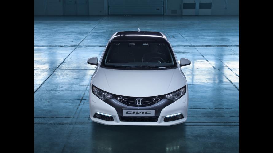 Nuova Honda Civic, le prime immagini