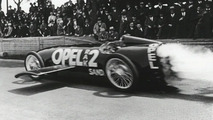1928 Opel RAK 2 rocket propelled car sets speed record