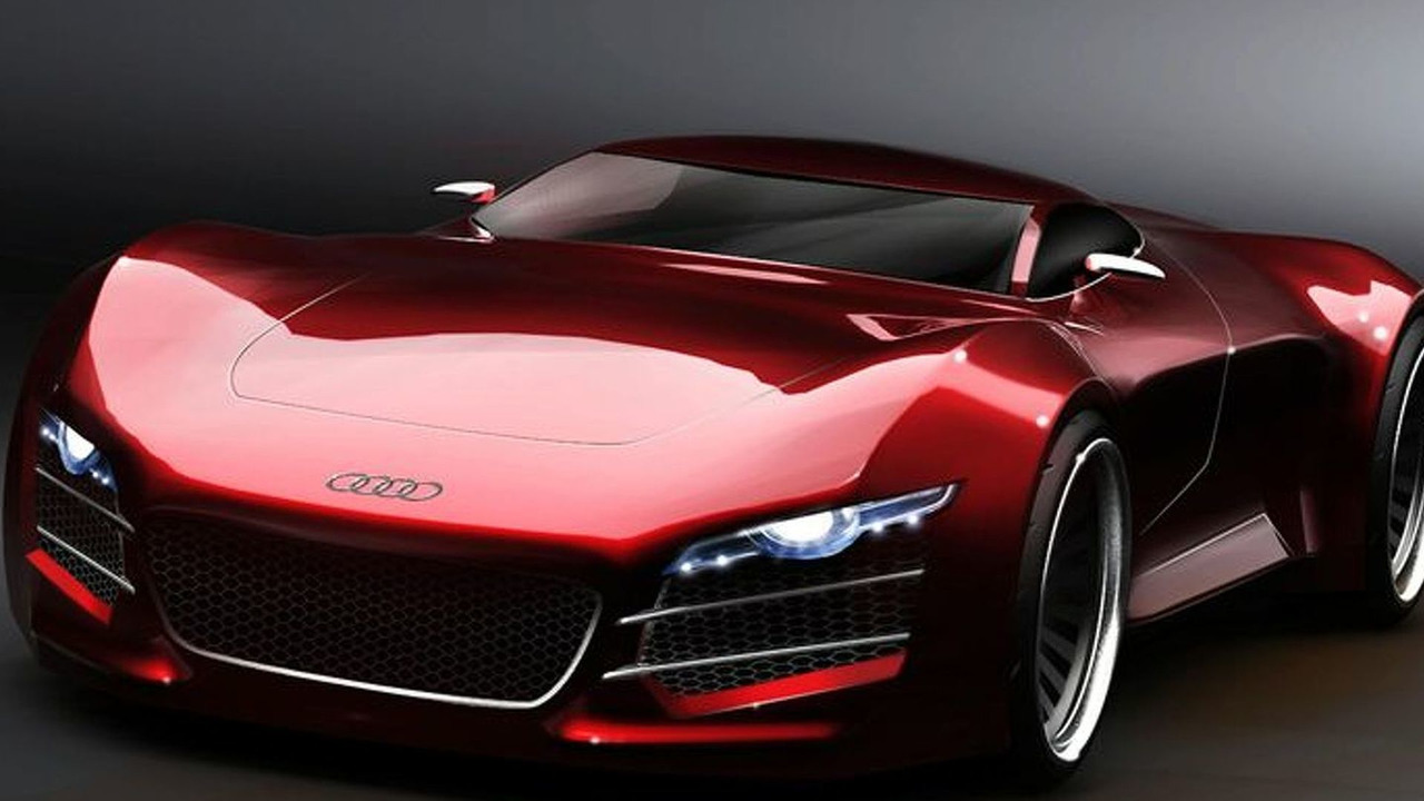Audi R10 Supercar artists speculative rendering