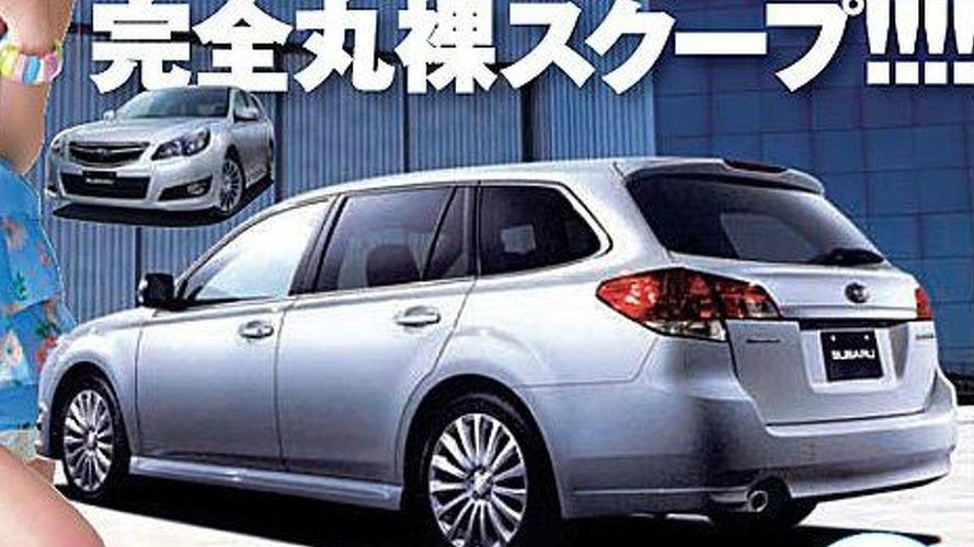 Subaru Legacy Wagon (JDM) Images Appear in Magazine
