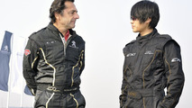 Peugeot EX1 concept setting EV performance records in China, Nicolas Vanier and Chinese blogger Han Han, 16.12.2010