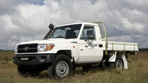 2007 Toyota LandCruiser 79 Cab Chassis Workmate