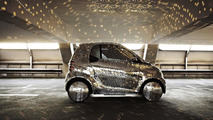 Smart fortwo electric drive disco ball 18.03.2011