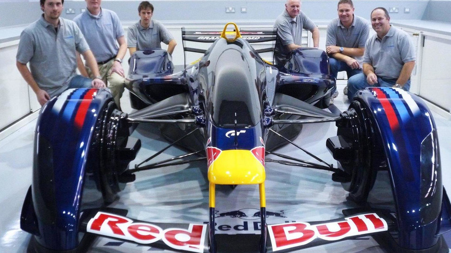 Red Bull X1 dream racer gets built full scale