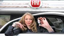 Jodie Kidd on Fiat 500 Eco Test Drive