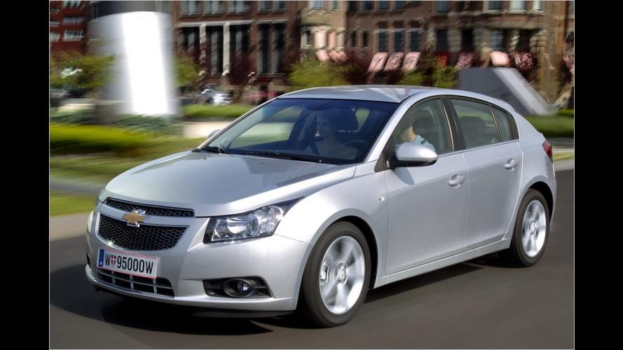 Chevrolet Cruze mit Schrägheck: Ein Astra-Kannibale?