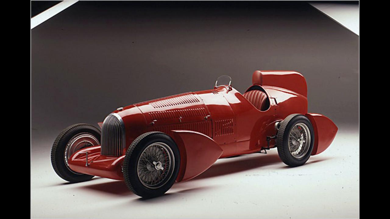 Alfa Gran Premio Tipo B P3 Aerodinamica (1934)
