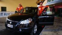 M.Schumacher with Fiat Sedici