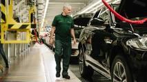 Jose Mourinho visits F-Pace factory