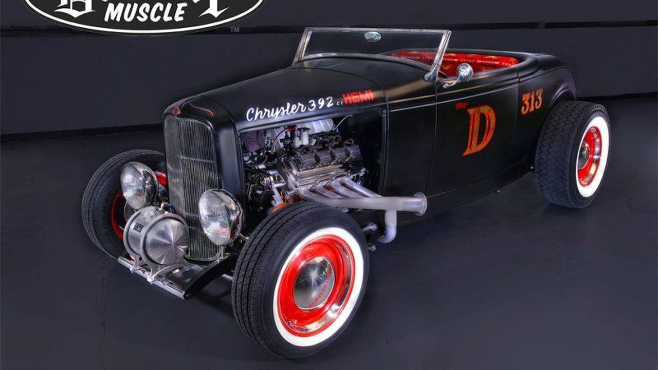 The D-Rod '32 Hot Rod by Detroit Muscle
