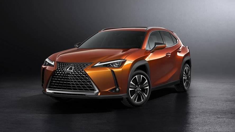 Lexus UX, etkileyici tasarımı ve yeni platformu ile Cenevre'de