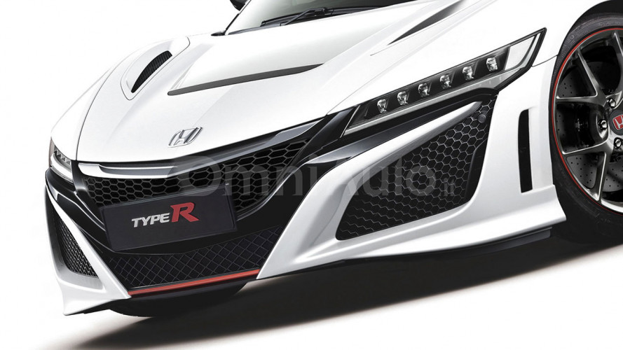 Honda NSX Type R en illustration
