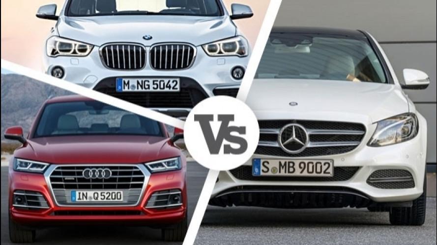 Mercedes vende più di BMW e Audi