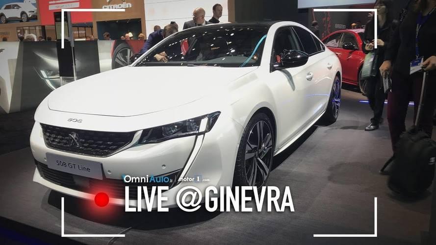 Peugeot 508 First Edition, al Salone di Ginevra l'edizione di lancio