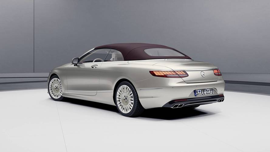 Mercedes S-Serisi Coupe ve Cabrio'ya Exclusive Edition Donanımı
