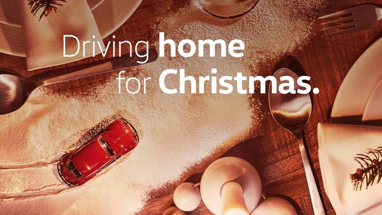 VW karácsonyi üdvözlet