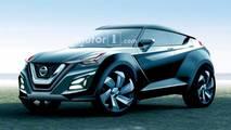2019 Nissan Juke rendering