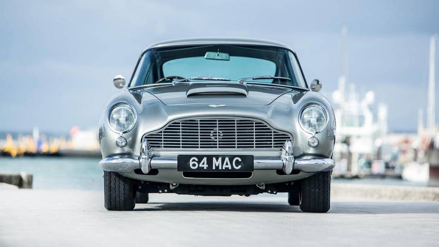 Aston Martin DB5 Bought By Paul McCartney Gets $1.82M At Auction