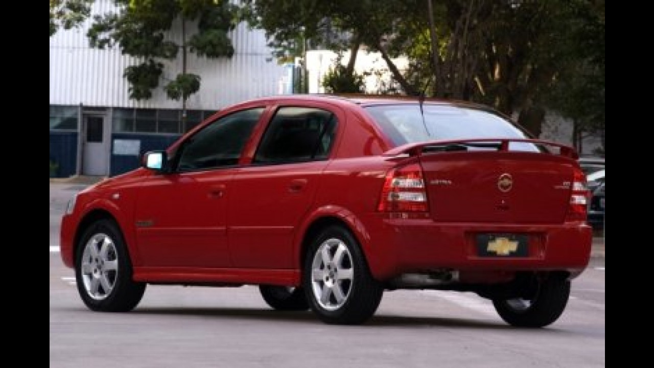 Chevrolet lança Astra 2008 em maio