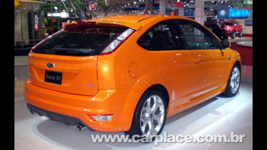 Salão do Automóvel 2008 - Ford mostra o esportivo Focus ST real aos brasileiros