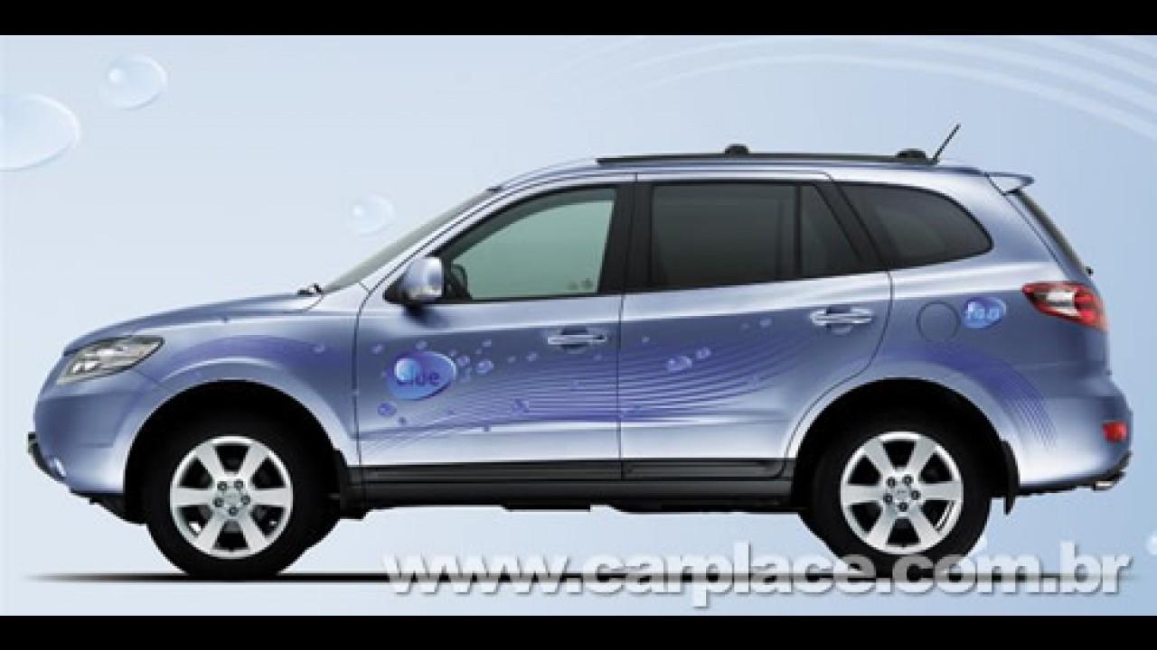 Hyundai Santa Fé Blue Hybrid - Versão será apresentada no Salão de Paris