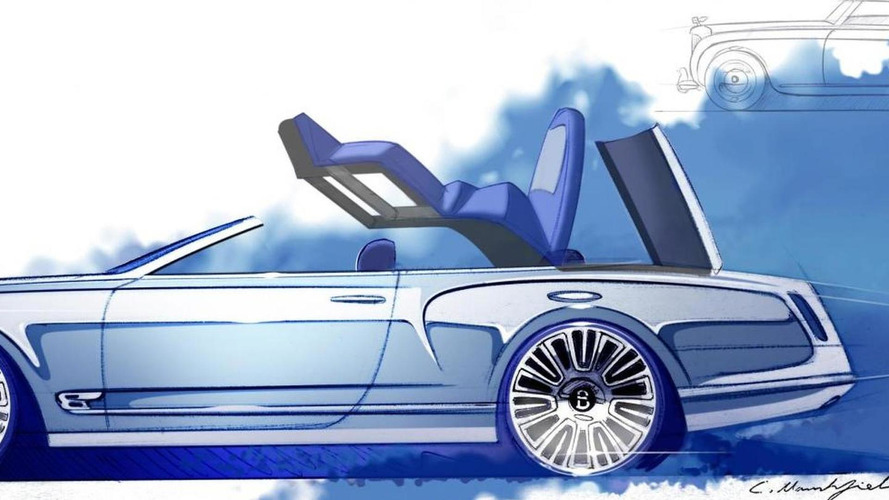Bentley Mulsanne Convertible concept revealed
