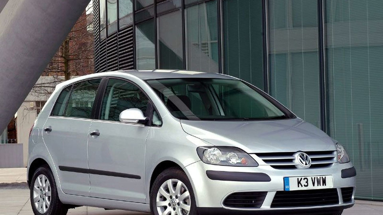 VW Golf Plus UK specification
