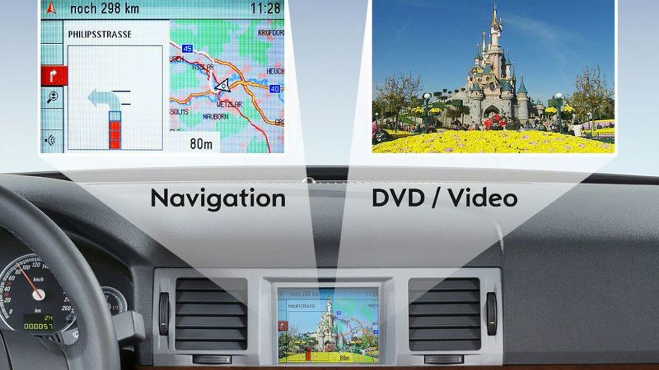 GM Presents DualView Technology
