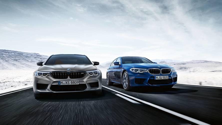 3.3 másodperc alatt százon az új BMW M5 Competition