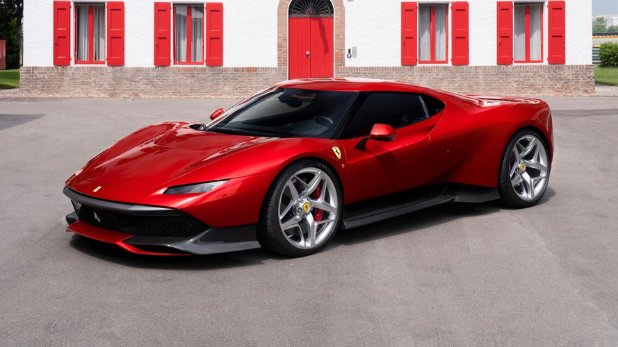 Sadece tek örneği olan Ferrari SP38, yeni bir F40 gibi