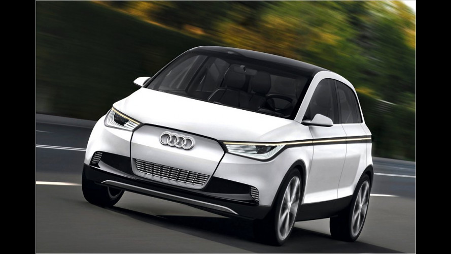 Audi A2 Concept: Neue Bilder, neue Infos