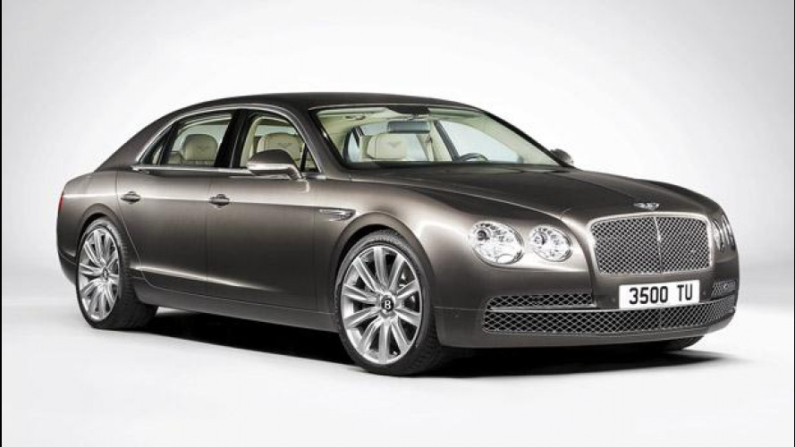 Bentley Continental Flying Spur restyling: le prime foto
