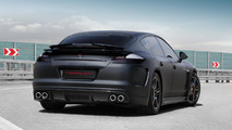 Porsche Panamera Stingray by TopCar, matt black, 28.05.2010