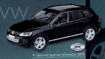 2011 VW Touareg New Generation scale model photos leaked - 800