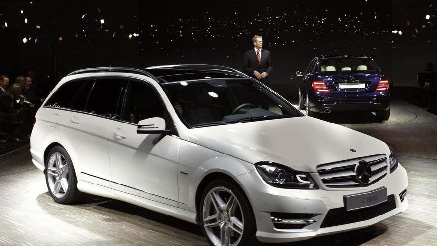 2012 Mercedes C-Class facelift world debut in Detroit, European pricing announced