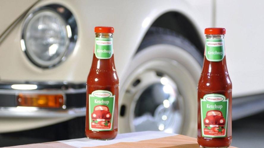 Volkswagen Classic Ketchup is No April Fools Joke - World Debut at Techno Classica 2010