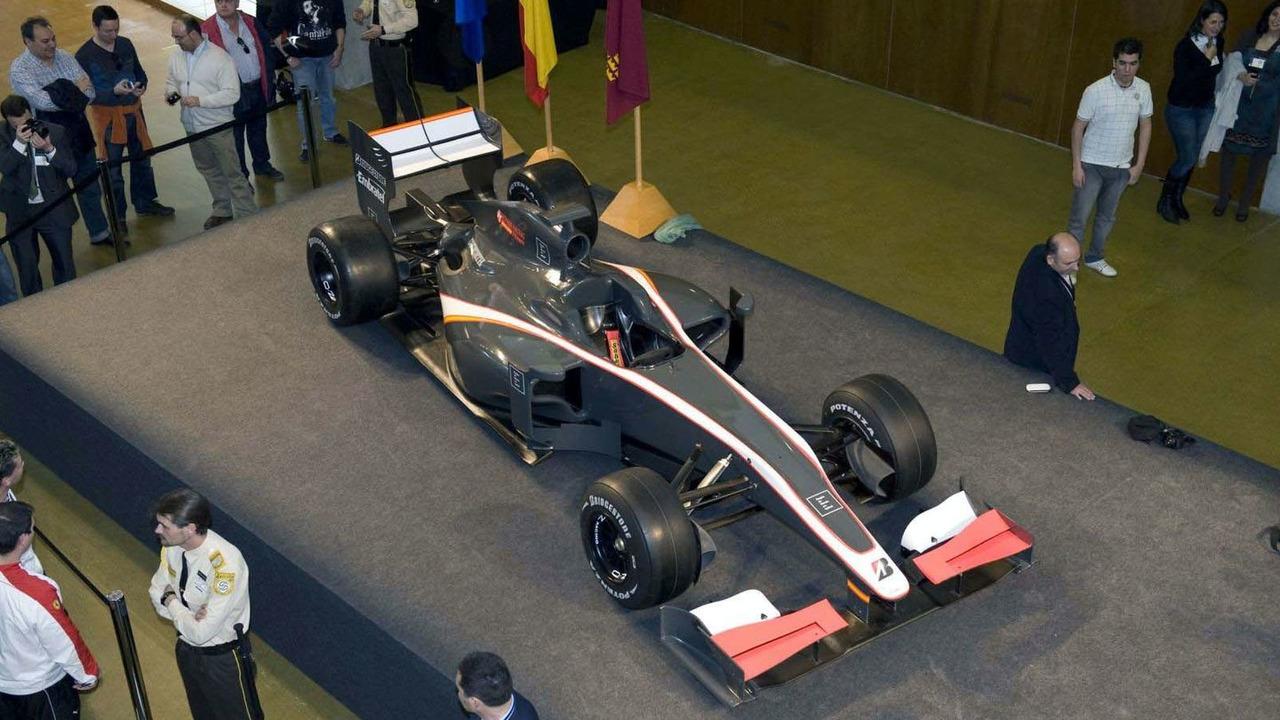 Hispania Racing Team F1 car launch, 04.03.2010, Spain