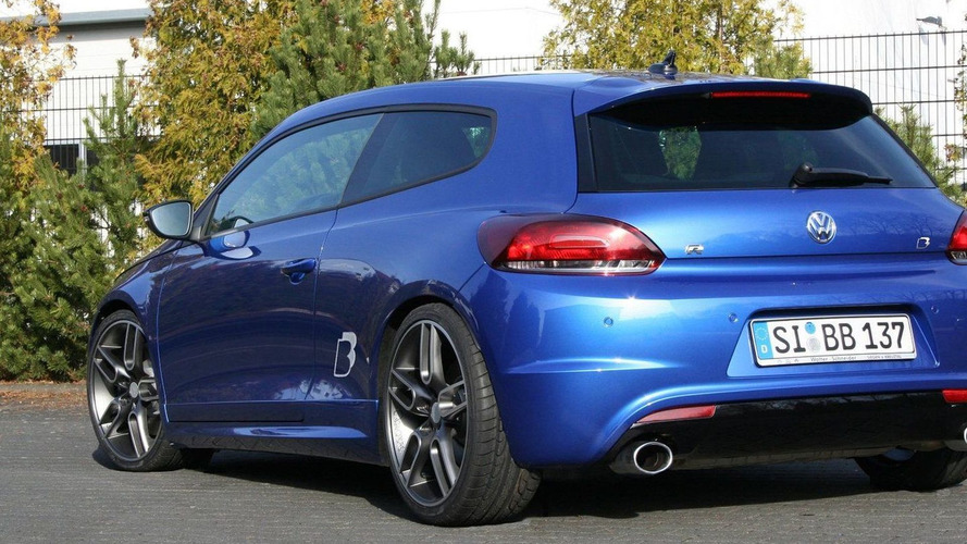 B&B Takes VW Scirocco R up to 362 PS / 357 bhp