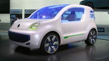Renault Kangoo Z.E. Concept live in Frankfurt