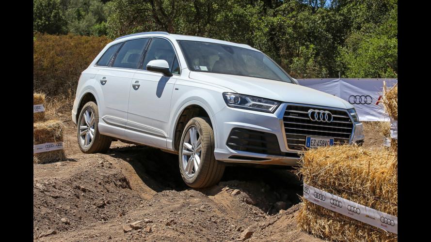 Audi Q7, vita da