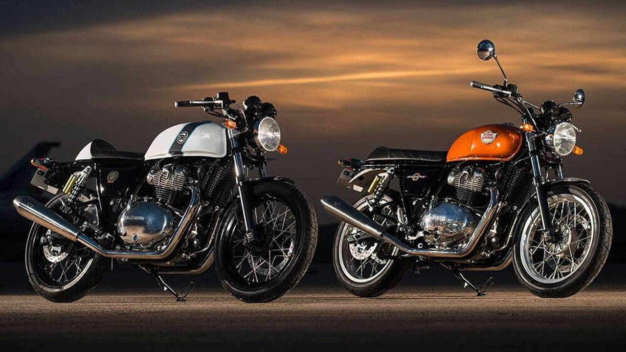 Nuevas Royal Enfield Interceptor INT 650 y Continental GT 650