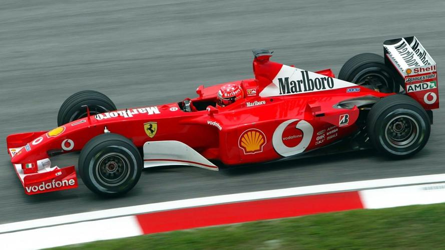 Ferrari F2001, all'asta quella di Schumacher