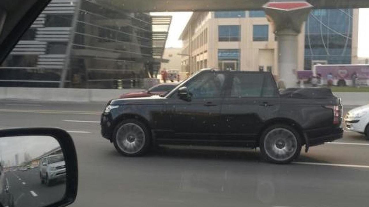 Range Rover Convertible in Dubai