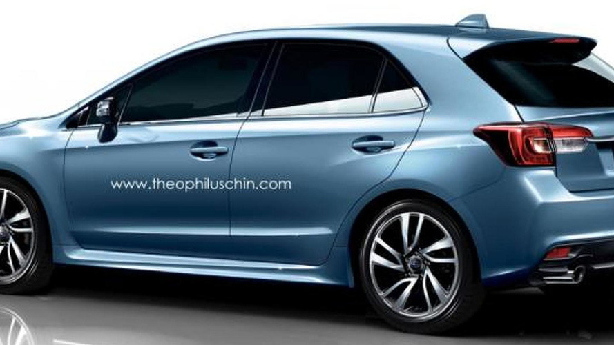 Subaru Levorg hatchback render is an attractive Impreza alternative