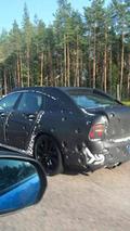Volvo S90 spy photo