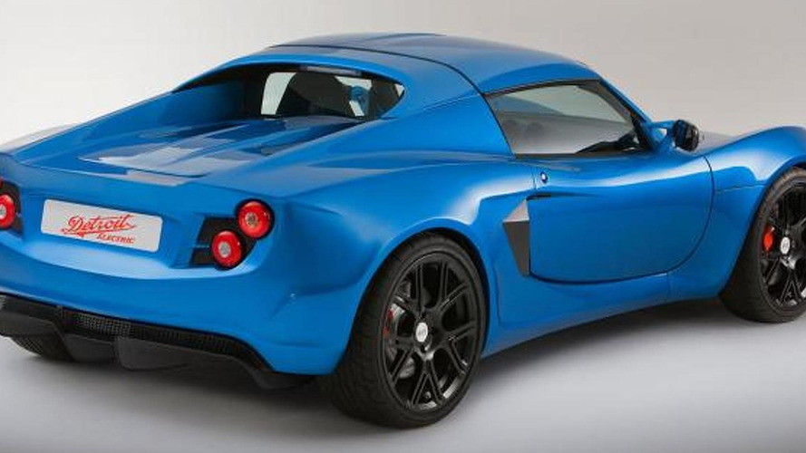 Detroit Electric SP:01 announced - based on Lotus Exige