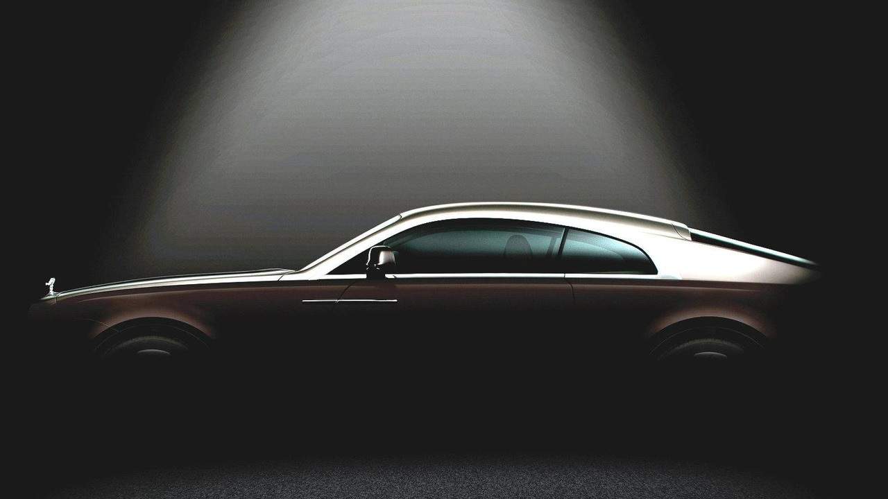 Rolls Royce Wraith teaser (digitally enhanced) 22.01.2013